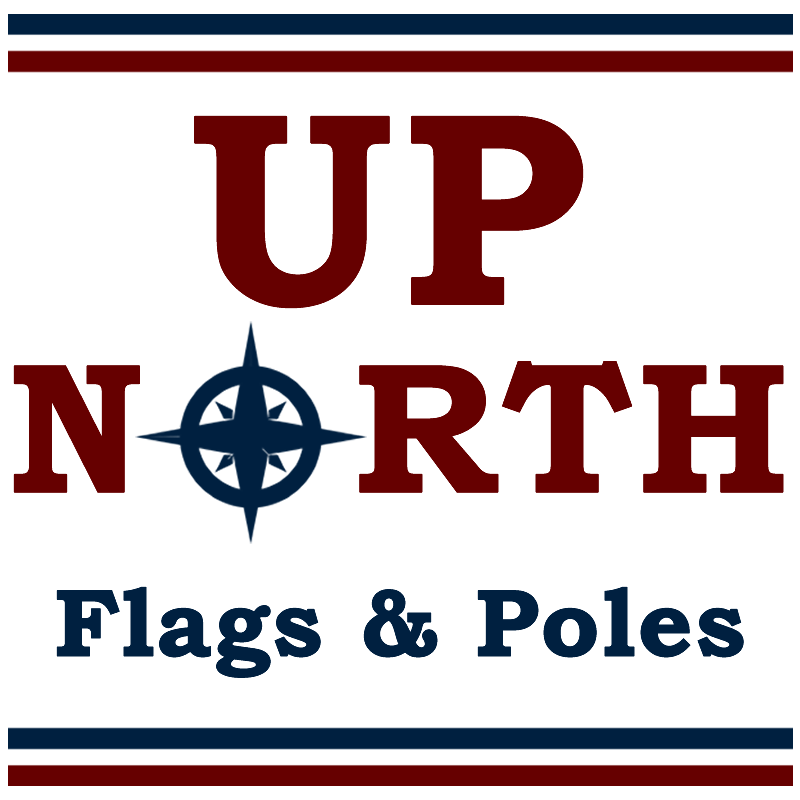 Up North Flags and Poles